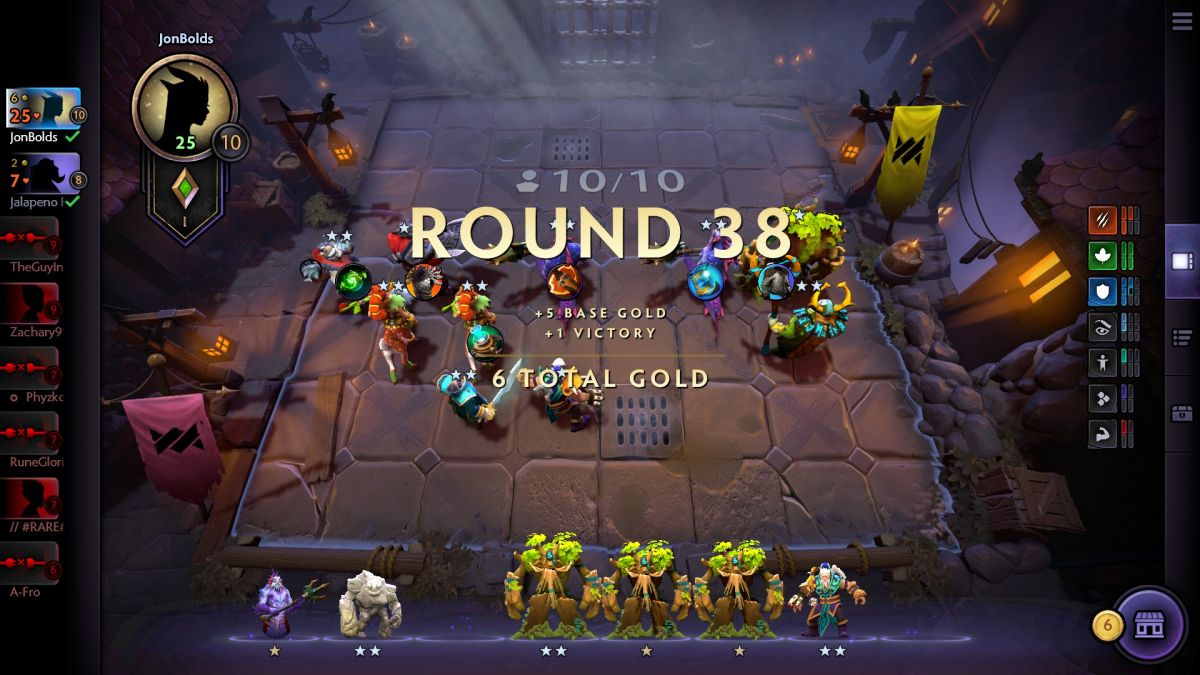 Dota Underlords is a streamlined Auto Chess with some nice
