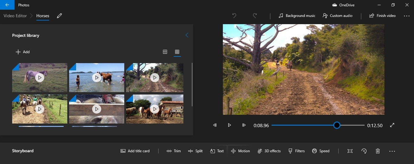 best photo video maker app with music for iphone