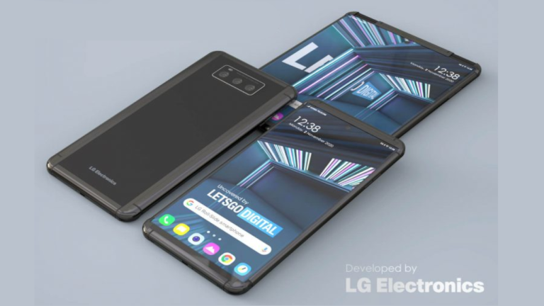 LG Project B rollable smartphone