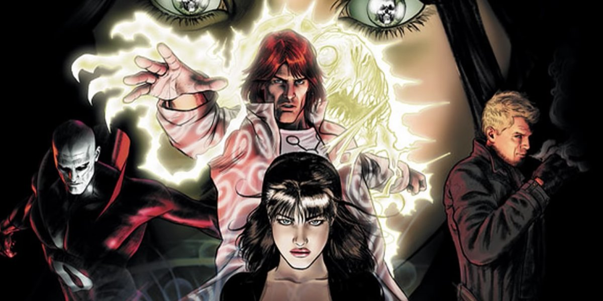 The founding members of Justice League Dark