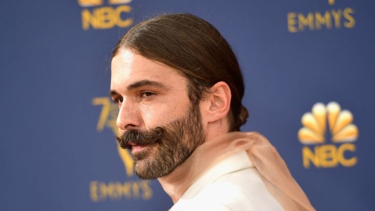Jonathan Van Ness attends the 70th Emmy Awards at Microsoft Theater on September 17, 2018 in Los Angeles, California