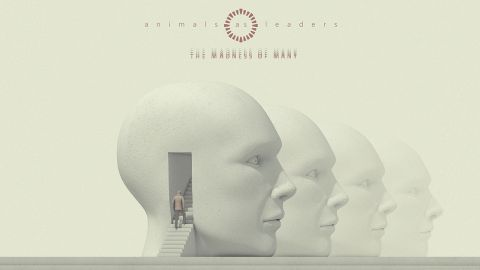 Cover art for Animals As Leaders, the madness of many