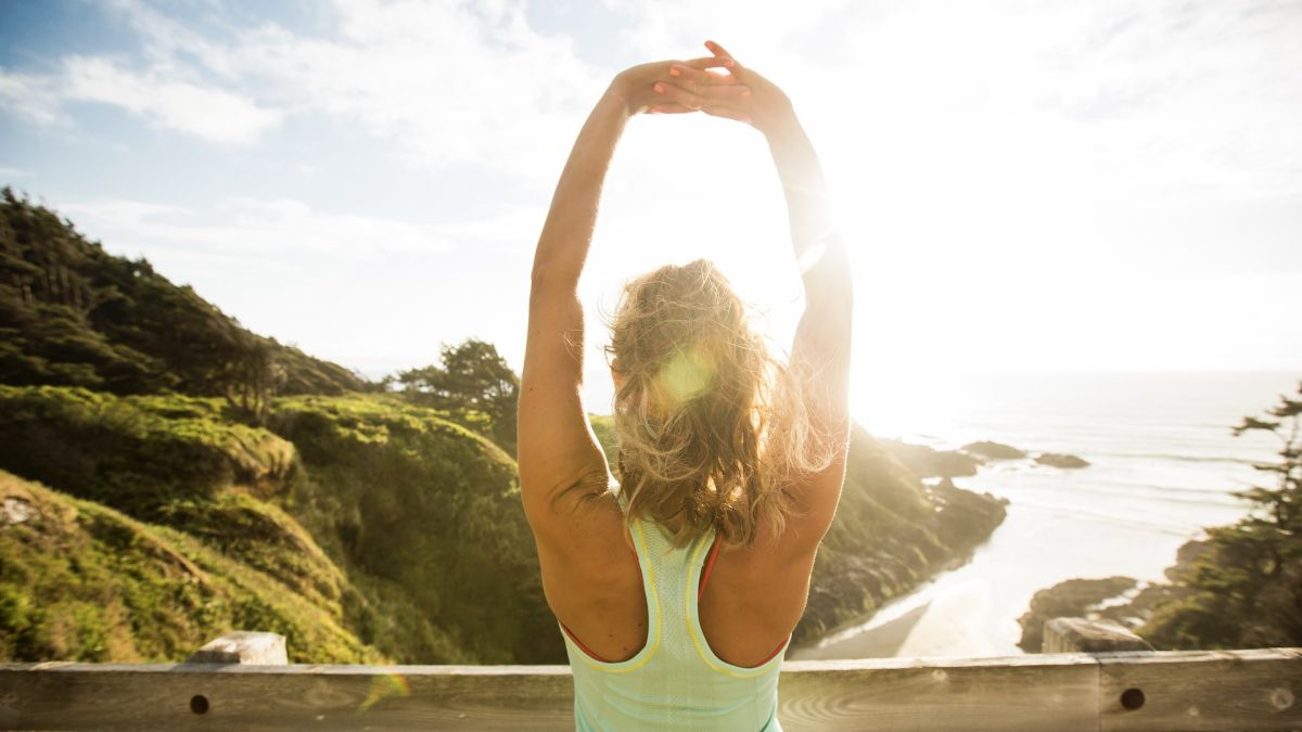 How to perform cool down stretches after running