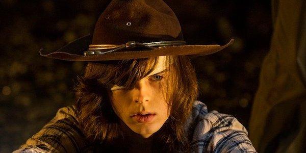 Carl in Season 7 of TWD