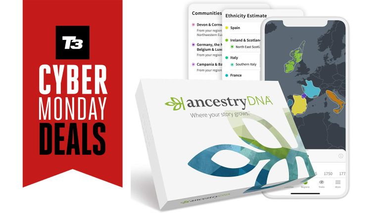 Amazon Cyber Monday DNA testing kit deals