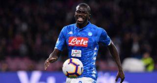 Kalidou Koulibaly Napoli Manchester United transfer