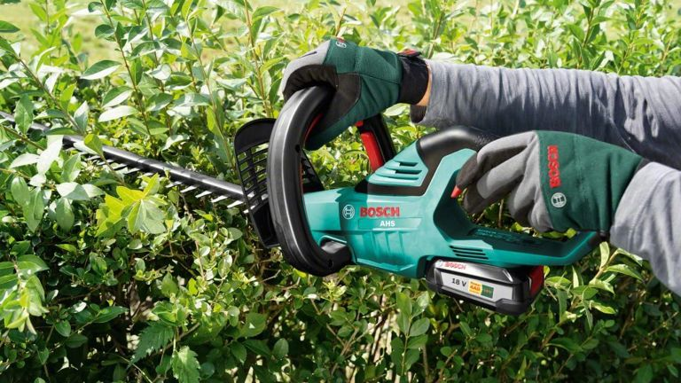 best cordless hedge trimmer by Bosch