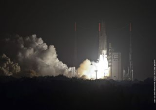 Ariane 5 Rocket Launch March 22, 2014