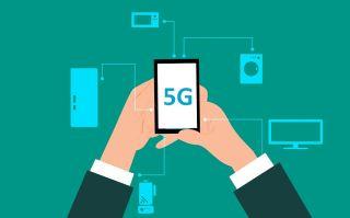 Grafiikka 5G-yhteydestä