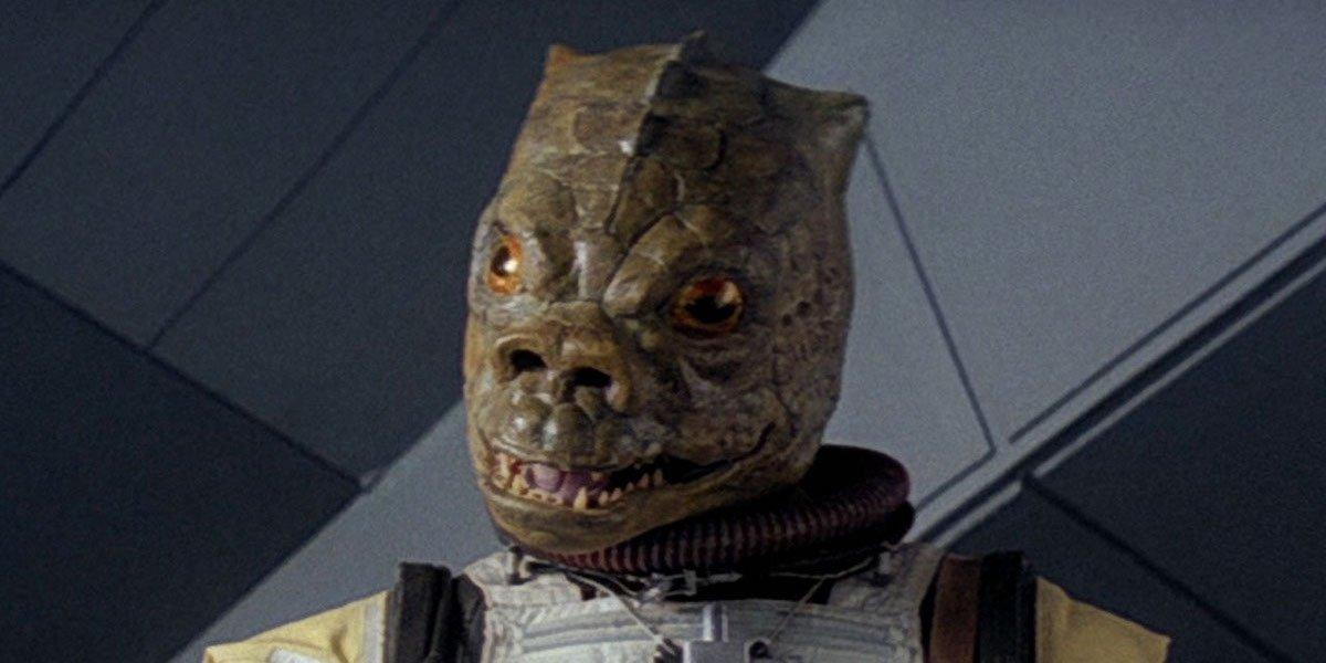 Bossk in Empire Strikes Back