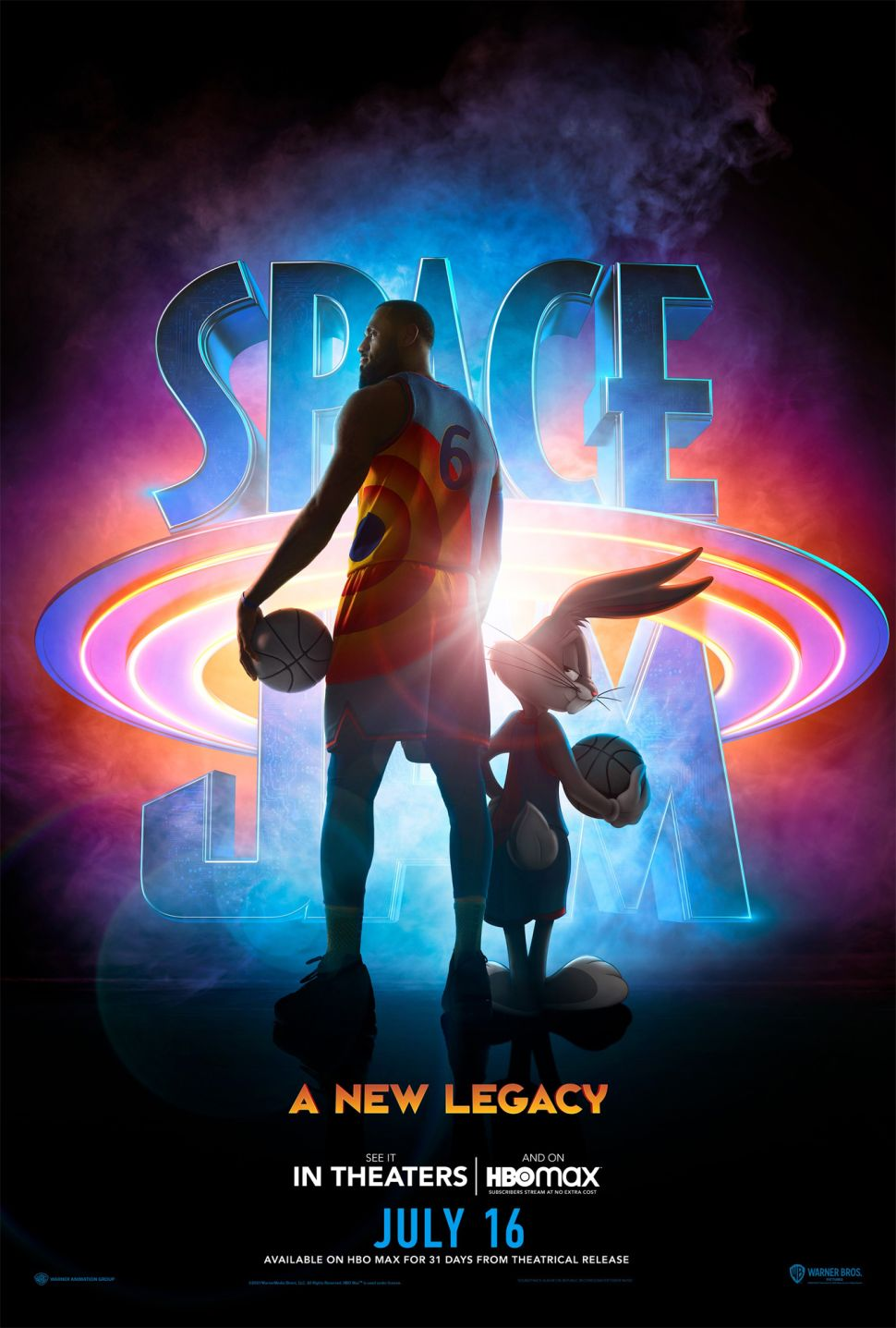 First 'Space Jam: A New Legacy' trailer recruits LeBron James and Bugs Bunny to battle the Goon Squad