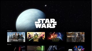 Disney Plus UK Star Wars