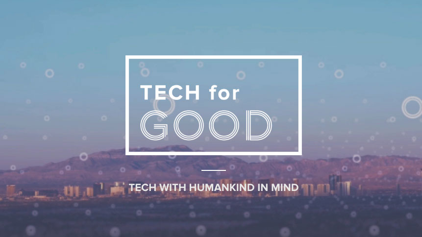 tech for Good homepage