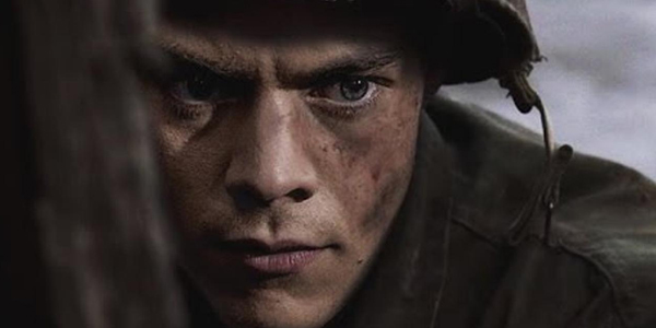 harry styles with short hair in dunkirk