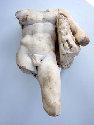 Hercules marble statue
