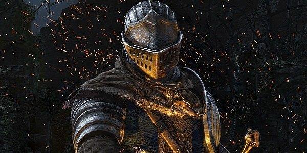 a knight ignites flame Dark Souls