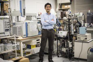 Biogeochemist Yuichiro Ueno