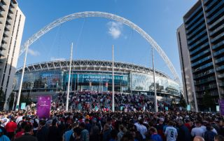 Wembley Italy England channel