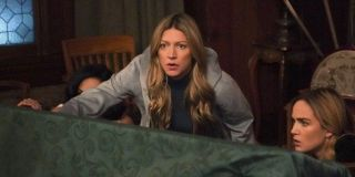 Jes Macallan as Ava Sharpe on DC's Legends of Tomorrow.
