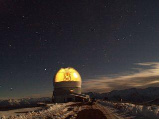 SOAR Telescope Time Exposure Image