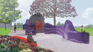 An artist's impression of the park