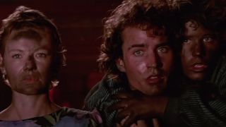 Dianne Wiest, Jason Patric, and Corey Haim in The Lost Boys