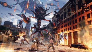An image of Earth Defense Force: Iron Rain
