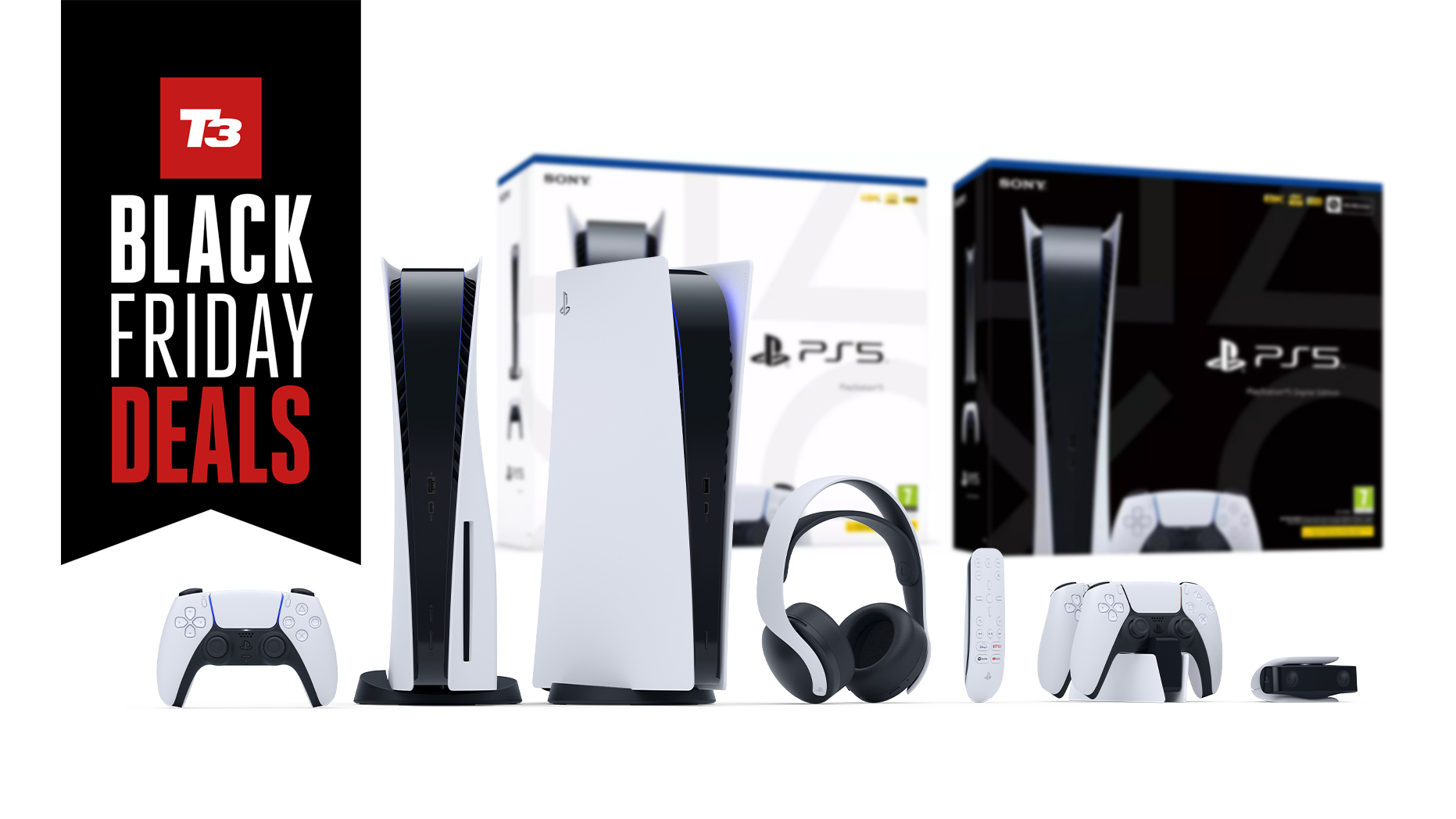 Ps5 Black Friday Deals Consoles Tvs Accessories And Games T3