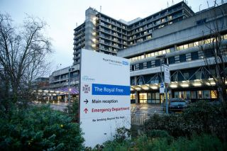 The Royal Free hospital in Camden.