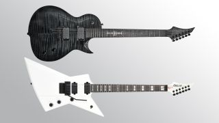 Solar Guitars GC1.6 Killertone and E1.6 Priestess