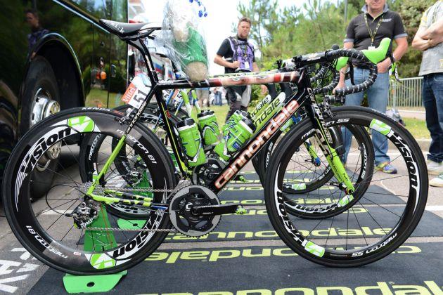 Peter Sagan's Cannondale SuperSix Evo, Tour de France 2014