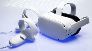 El Oculus Quest 2 y sus controladores