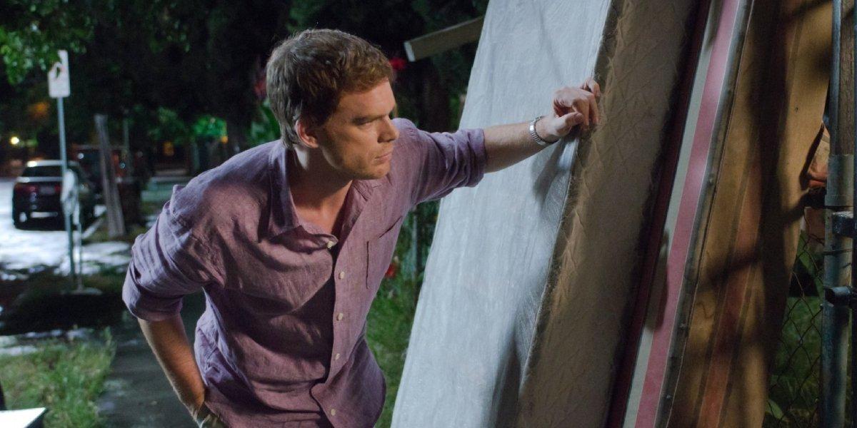 Michael C. Hall as Dexter Morgan on Dexter