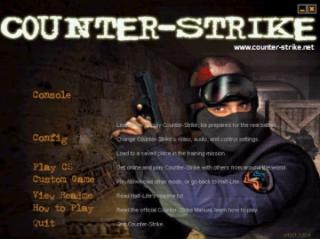 OG CS title screen.