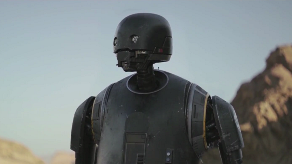 Star Wars: Rogue One had a K-2SO blooper in the final cut – watch Diego Luna try not to laugh