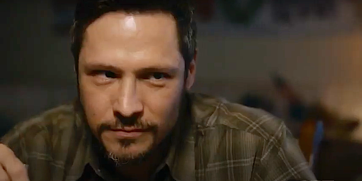 Nick Wechsler gives side eye as Ryan Sharp on This Is Us