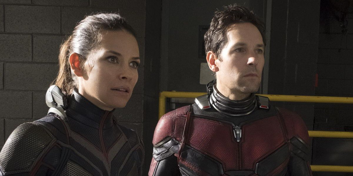 Evangeline Lilly, Paul Rudd - Ant Man vs. The Wasp