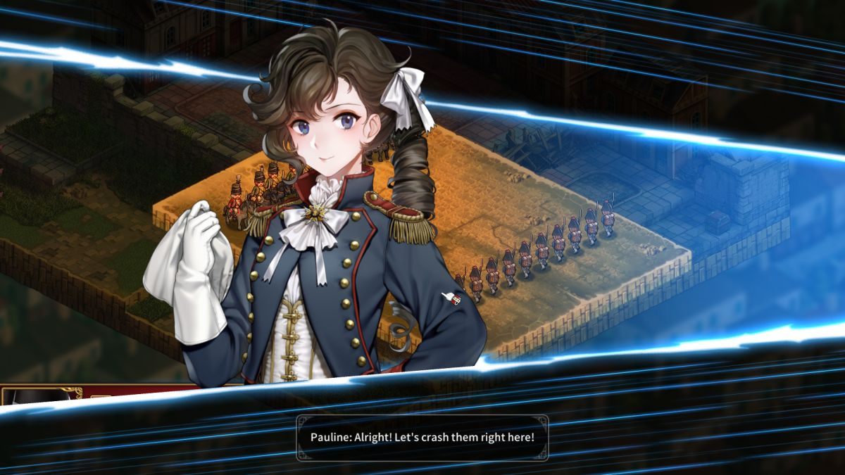 Anime French Revolution strategy RPG Banner of the Maid is now in English