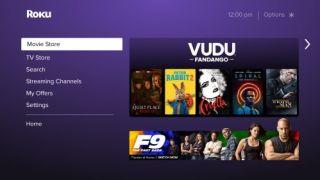 Fandango Vudu Roku TV