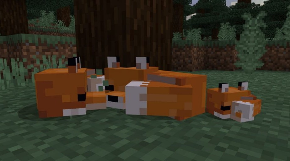 Minecraft Now Has Foxes Brown Mooshrooms And Suspicious