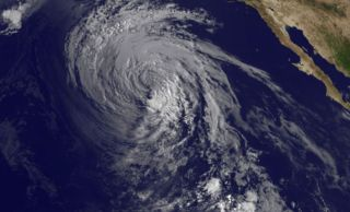 Tropical Storm Marie on Aug. 28, 2014