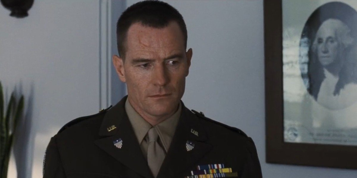 Bryan Cranston in Saving Private Ryan