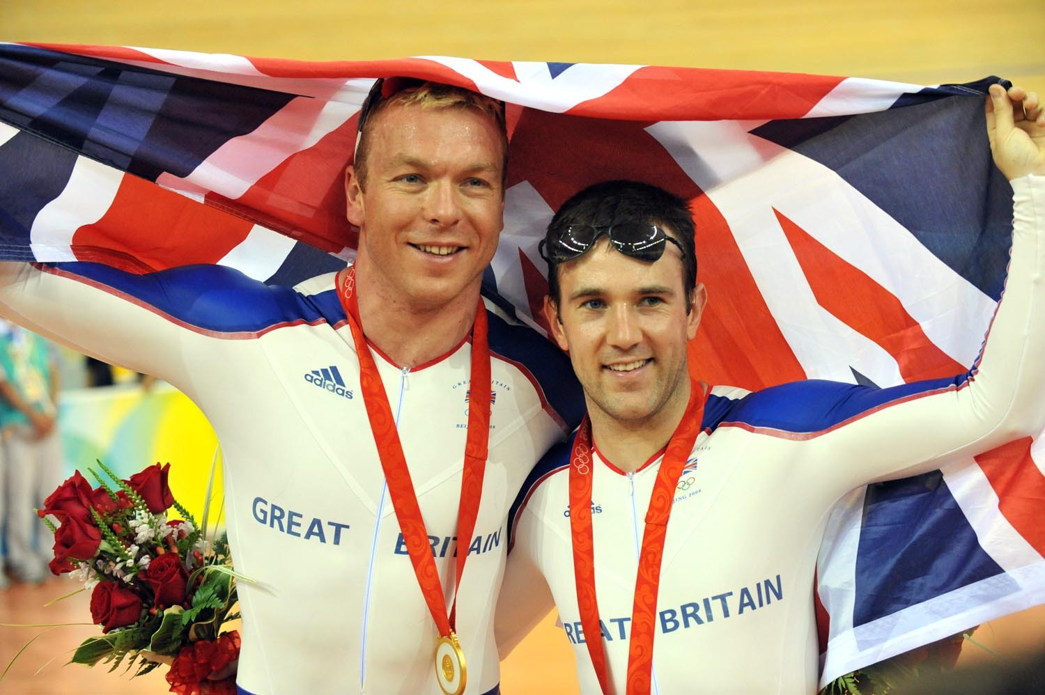Chris Hoy Ross Edgar Olympic Keirin gold silver