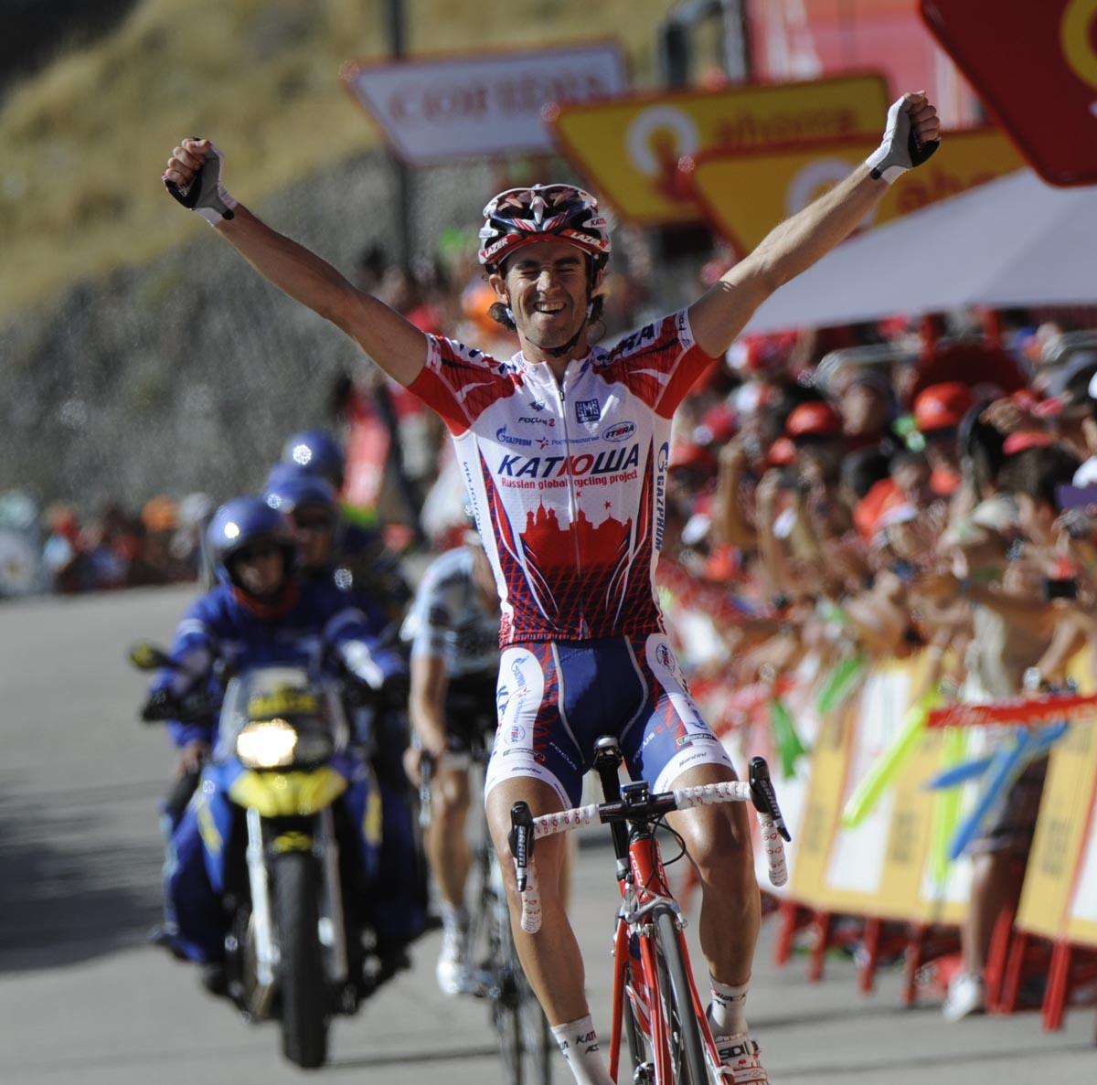 Daniel Moreno wins, Vuelta a Espana 2011, stage four