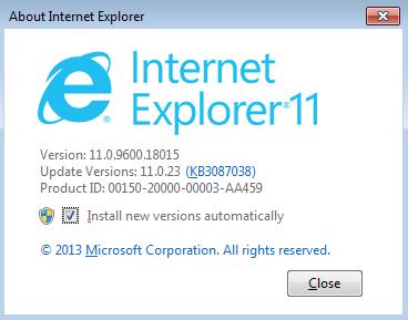 Updating my internet explorer we dating site