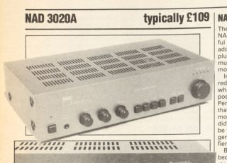 That Was Then NAD 3020 Review