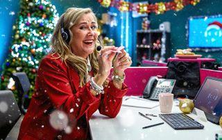 Celebrity Call Centre at Christmas