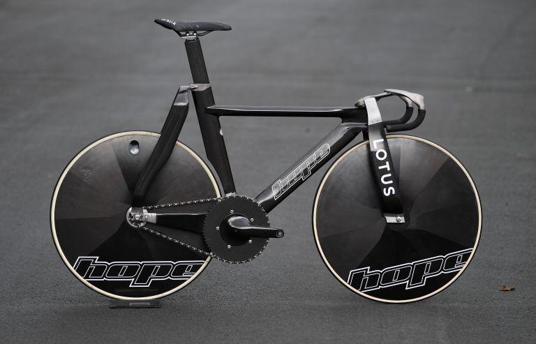 Team GB's track bike