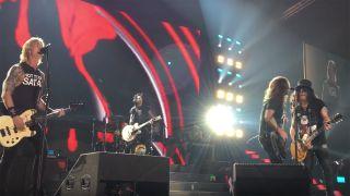 Foo Fighters Guns N' Roses performing live