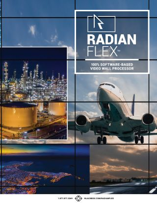 Black Box Launches New Radian Flex Video Wall Platform